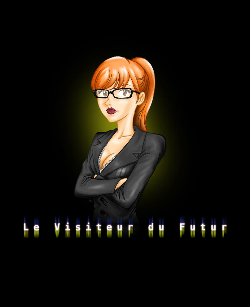 Le Visiteur du Futur - Judith - Justine Le Pottier by MB-LittleGreen