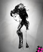 Amy Winehouse - Fanart by MB-LittleGreen