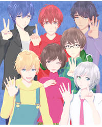 DL: Osomatsu-san x Vocaloid [HBD JJINOMU !!] by maydayfireball