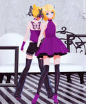 [DL] YYB Butterfly On Your Shoulder Rin and Len
