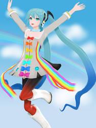 [DL] YYB Rainbow Line Miku