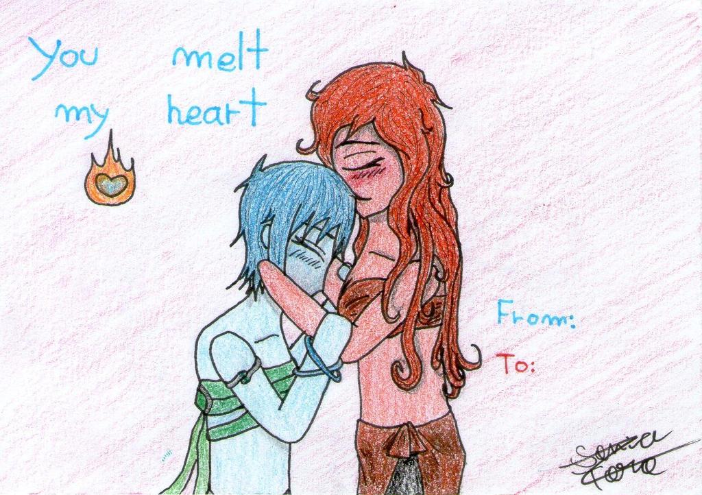 You melt my heart (Valentine's Exchange) by LonelyShine