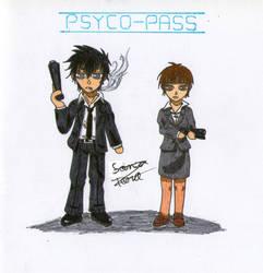 Psycho-Pass Chibi by LonelyShine
