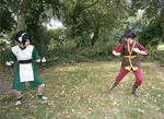 GIF: Toph Vs Zuko by Sebbys