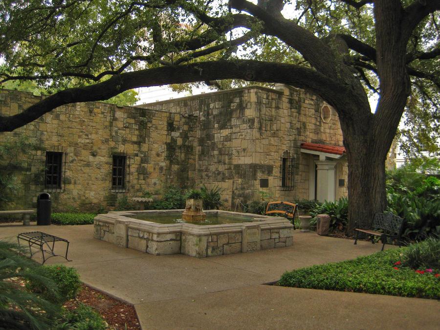 Alamo Spanish Mission by simfonic