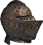 Ornate Helm PNG