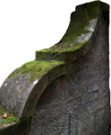 Mossy Wall PNG