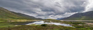 Highlands Panorama by simfonic