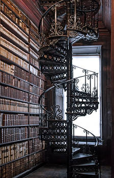 Trinity Library Stairs