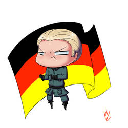Germany Chibi by penutbutterbiscuit