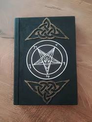 Baphomet book / blank journal