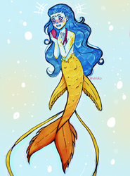 Lost Mermaid Princess by Yiroko