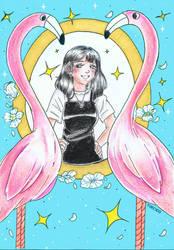 |commission| Flamingo