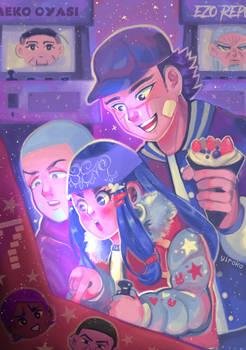 Golden trio gaming