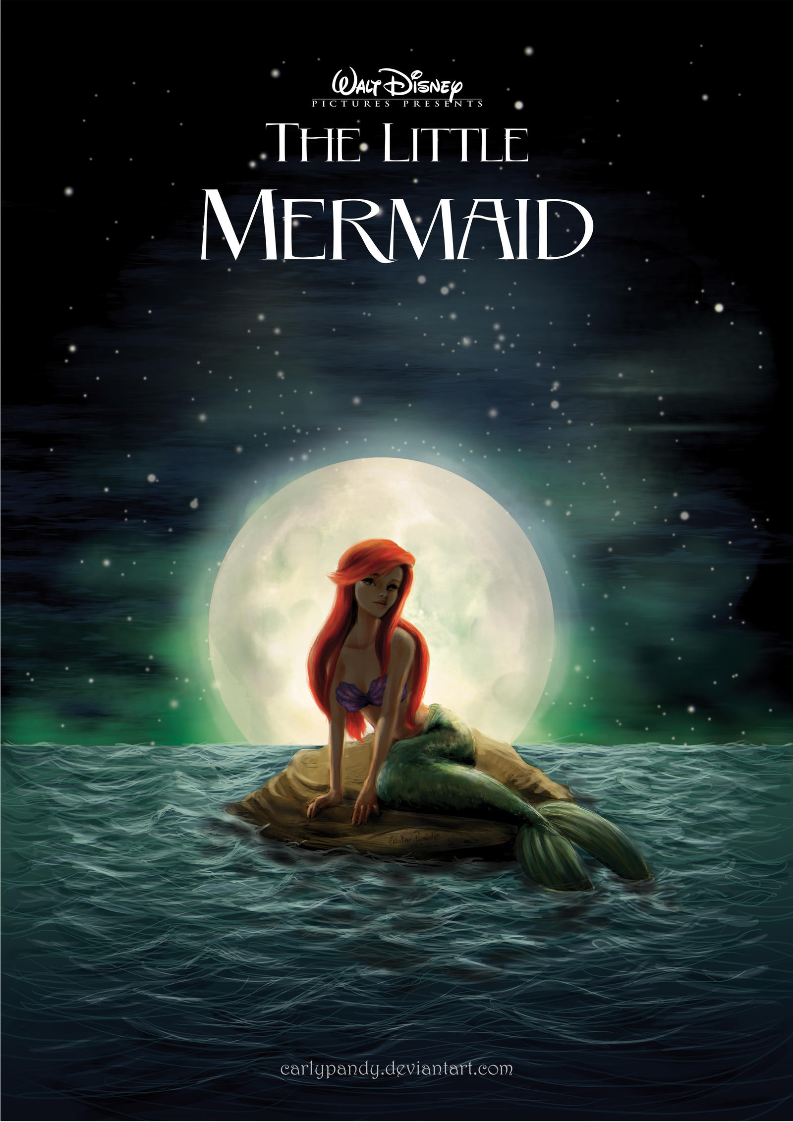 how to become a mermaid on a full moon