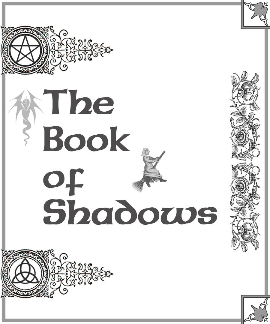 This is a graphic of Witty book of shadows coloring pages free
