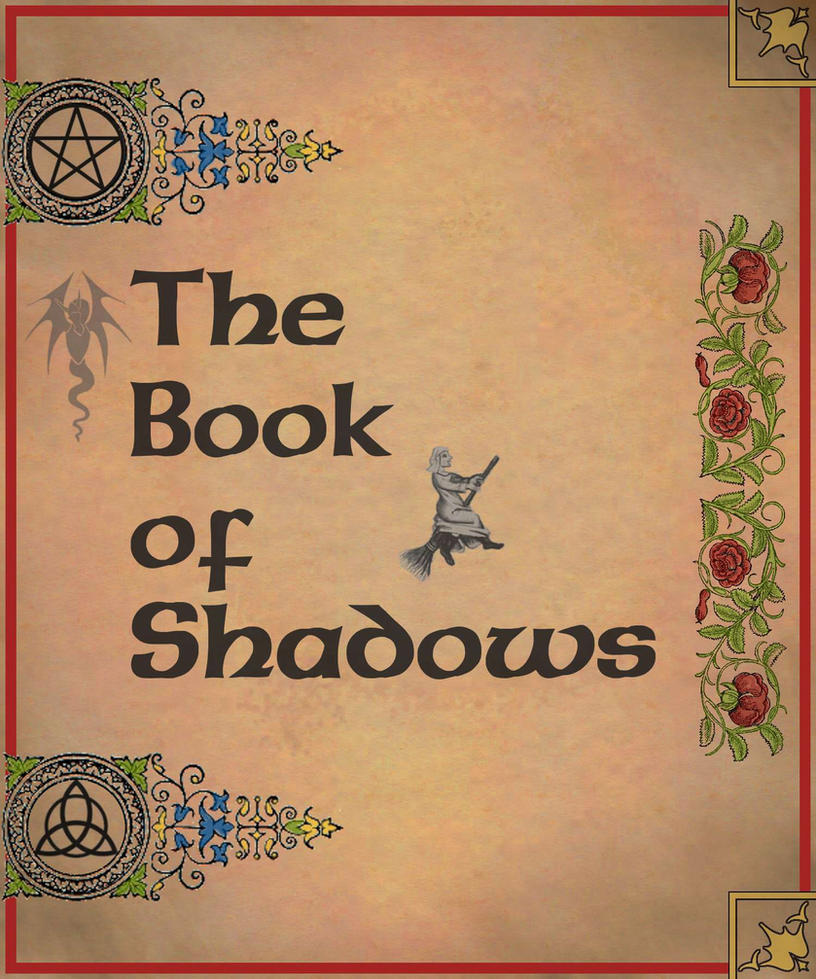 Cover Page Of Drawing Book : Book of shadows cover page by sandgroan on deviantart
