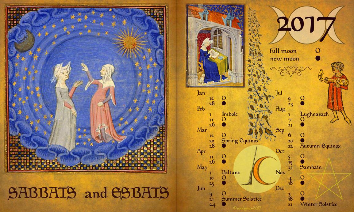 Sabbats and Esbats by Sandgroan