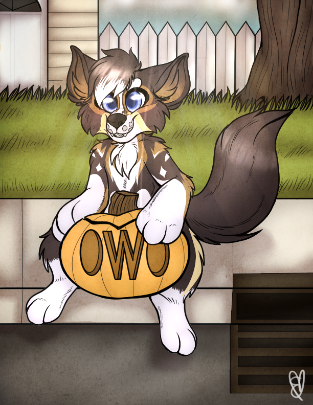OWO It's a Pumpkin by EmmyIzawa