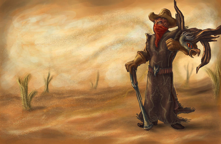 Swain the Cowboy by He-st