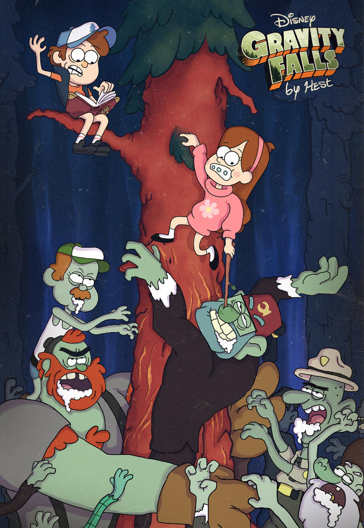 Gravity Falls Zombie