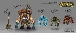 Gold digger Yorick