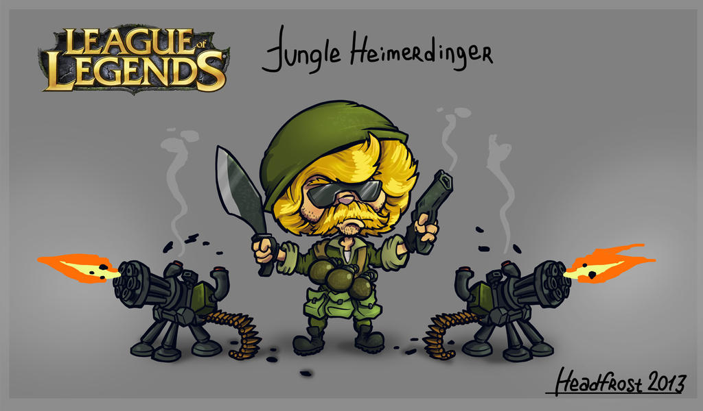 Jungle Heimerdinger by He-st