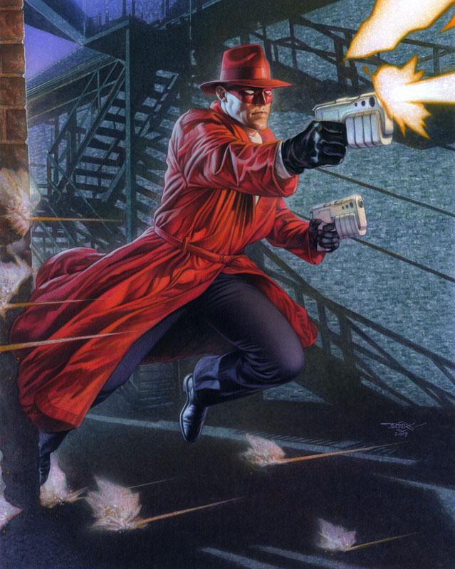 Crimson Avenger by DouglasKlauba