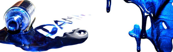 blue varnish? by MaginaRevolution