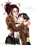 [Attack on Titan] Revi and Hanji