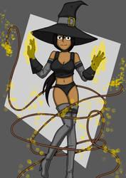 Sexy bondage witch Nelli
