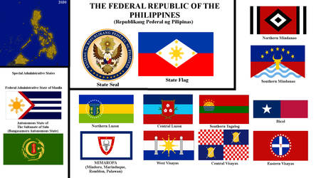 Flags and Seal of the Federal Republic