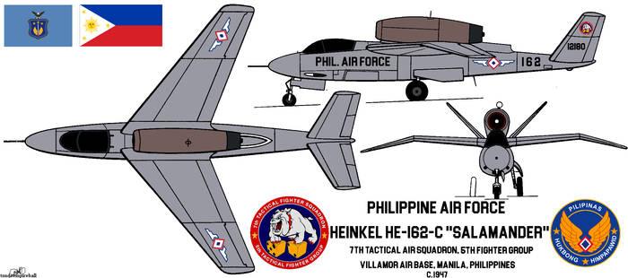 A Filipino He-162...