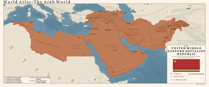United Middle Eastern Socialist Republics