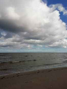 clouds and sea 1