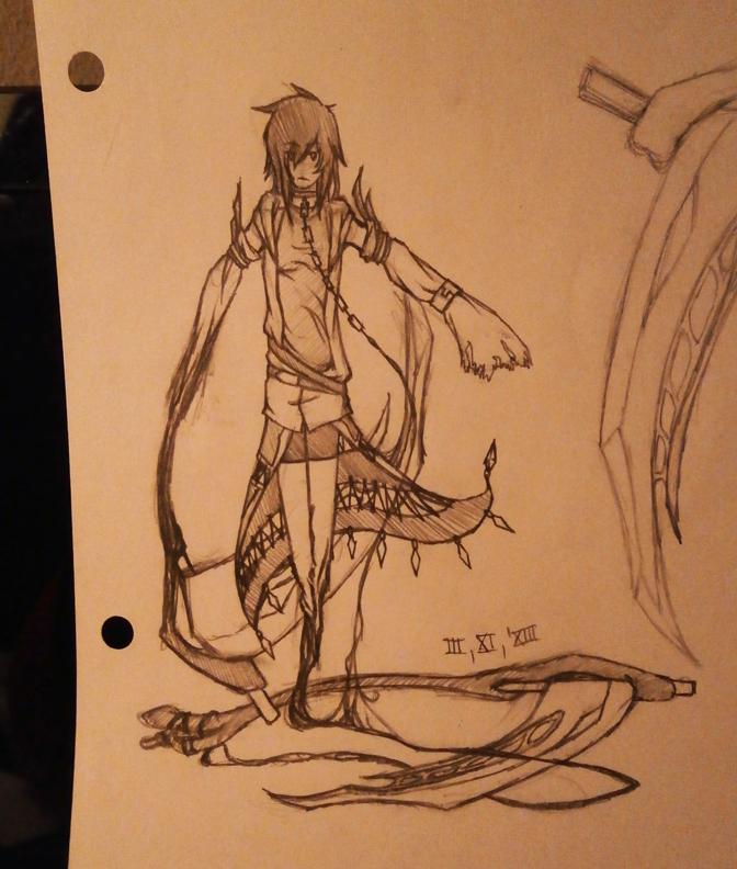 For LigerBeard - An Earlier Concept Sketch by Tybira