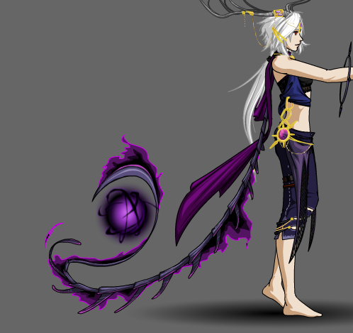 To help explain the void gypsy's spine scarf... by Tybira