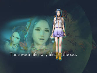 Time is like the Sea - Yeul Wallpaper by MorgaineSidhe