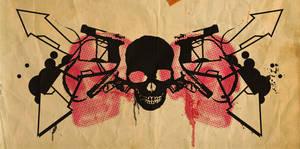 Guns and Skulls... by muskawo