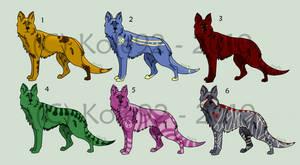 $Point Adoptables - Dog Set 1