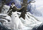 Snow and Ghost