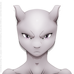 Mewtwo Headshot