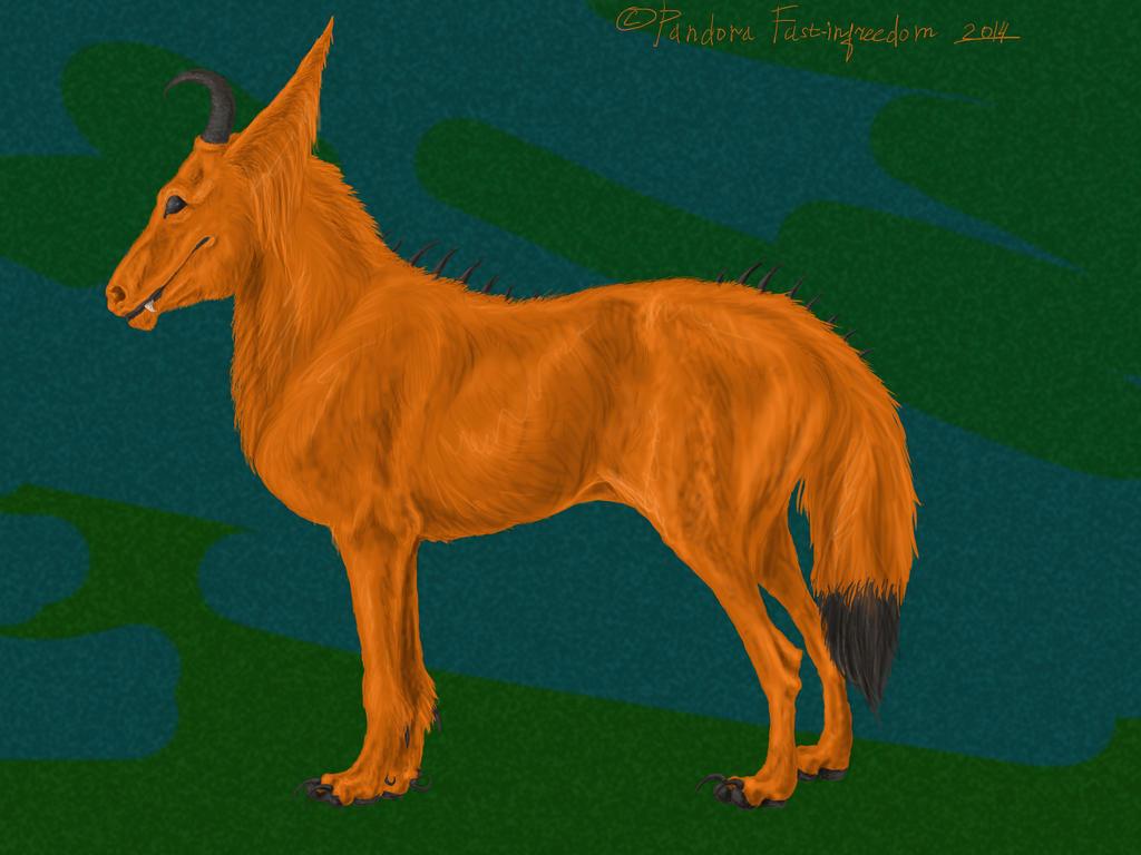 Devil's horse by PandoraFastInfreedom
