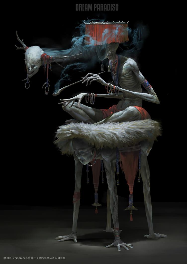 Morpheses The Portal Psychic by Zeen84