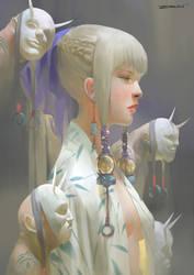 Girl by ZeenChin