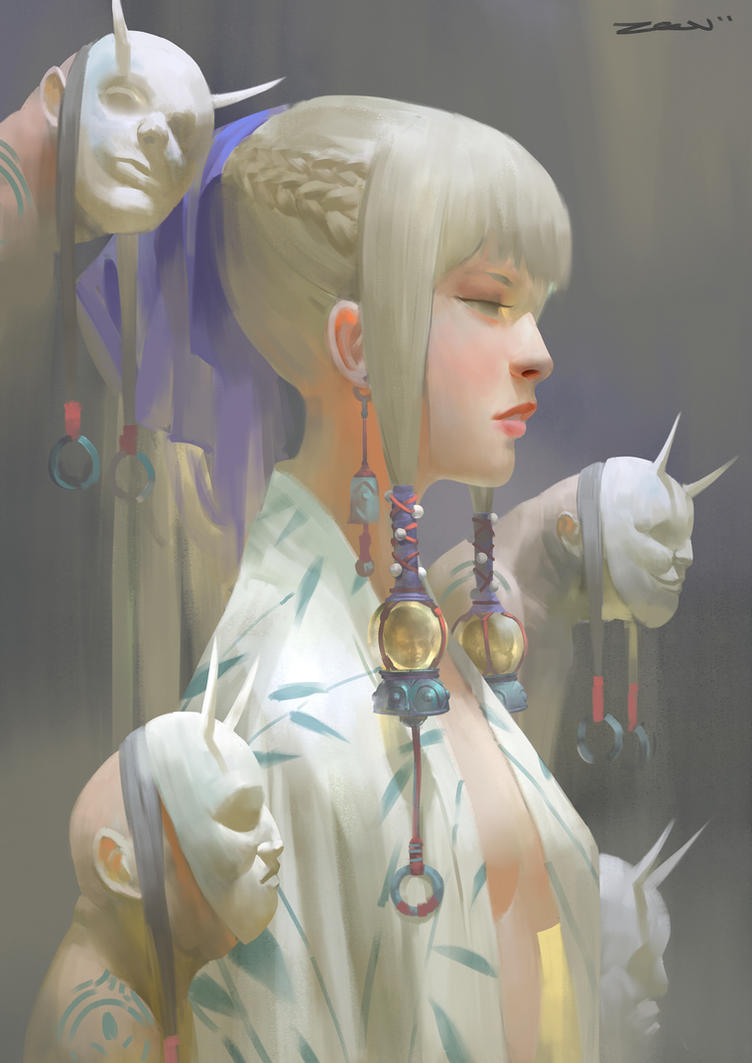 Girl by Zeen84