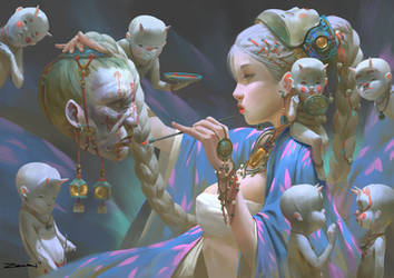 Incantation by ZeenChin