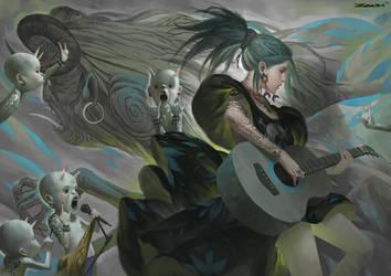 ROCK by ZeenChin