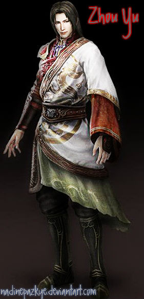 Dynasty Warriors 8: Zhou Yu by nadinepazkye on DeviantArt Zhou Yu Dynasty Warriors 8
