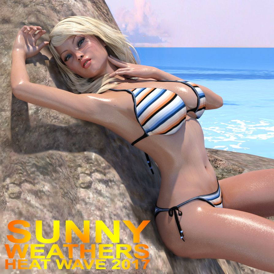 Sunny Weathers Heat Wave Calendar - Cover by lilacwren